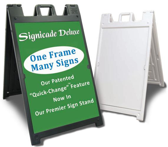 sidewalk signs a frame signs