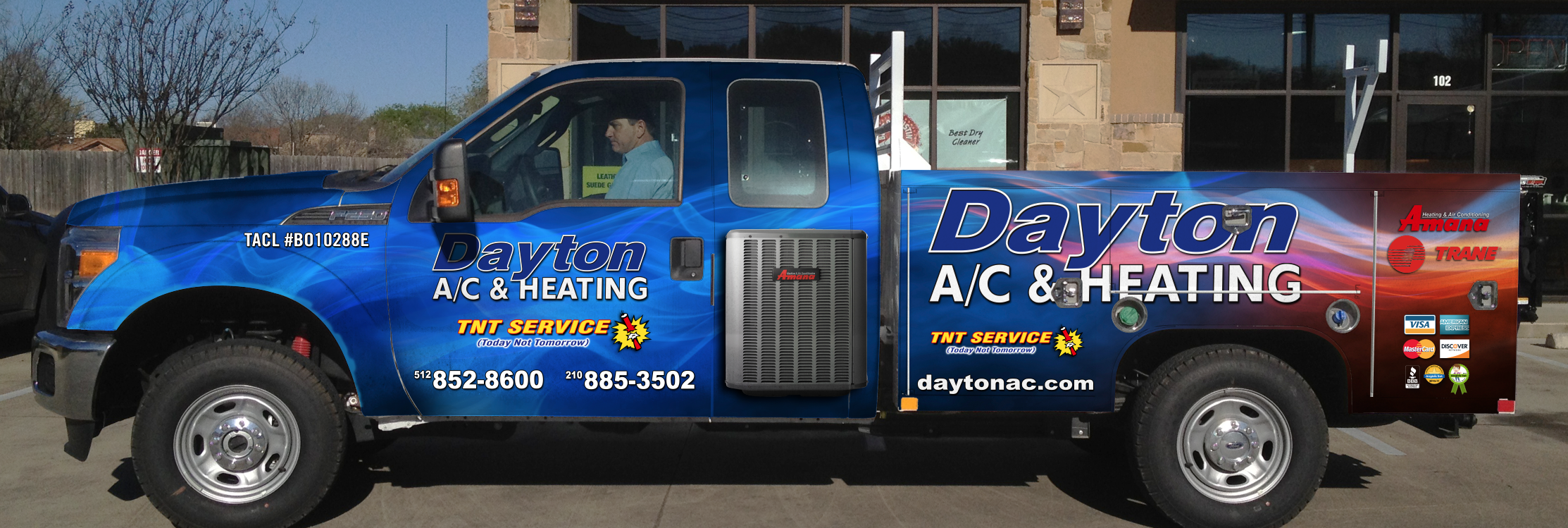 Dayton AC and Heating New Truck